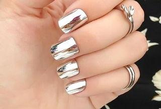 Manicure + Gelish Efecto Espejo
