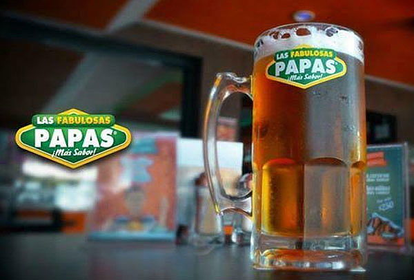 Hasta 2 Kg Alitas y 5 Lts Cerveza Fabulosas Papas Satélite