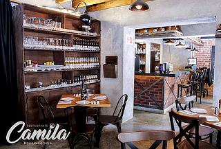Camila Roma: 2 Pizzas Gourmet + 2 Copas o  2 Cervezas