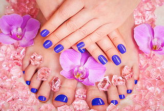 Gelish en manos y pies en Jan Spa