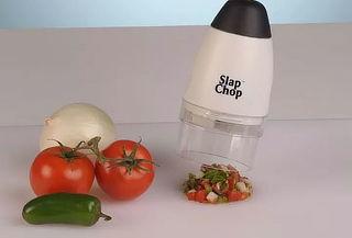 Procesador picador de frutas y verduras ¡Slap Chop!