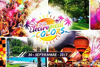 Festival Electropical Colors + Bus, Globos, Polvos y Agua