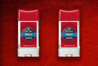 2 Desodorantes Old Spice en Gel Fresh 80 gr c/u.