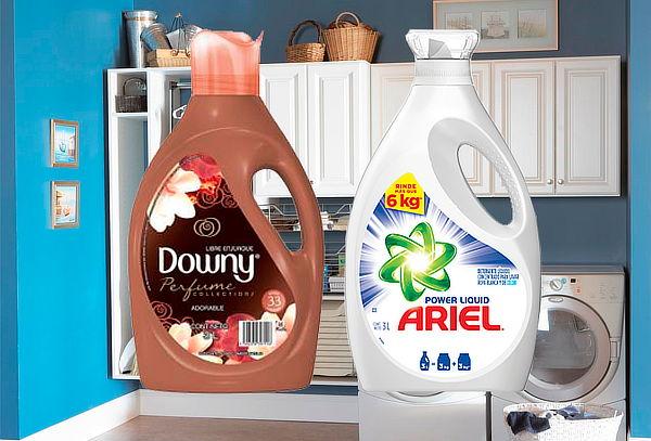 Combo Ariel Power liquid 3L + Downy Adorable 3L