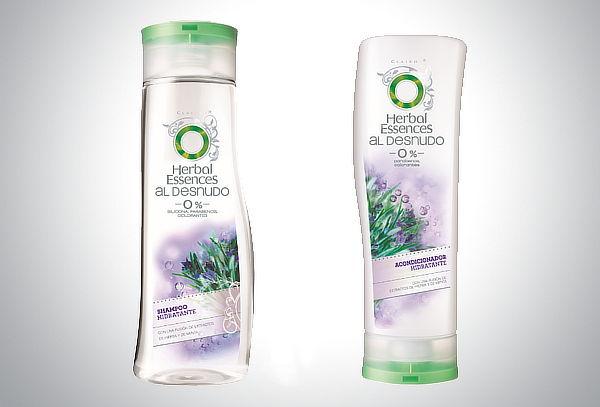 Shampoo+Acondicionador Herbal Essences al Desnudo Hidratante
