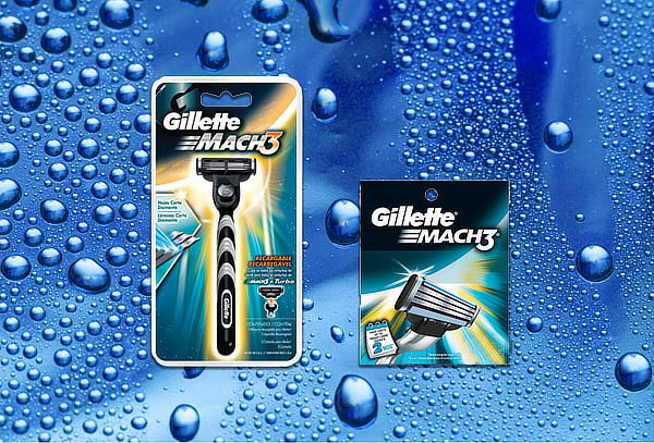 Pack  Gillette Mach 3 Regular ¡ 1 Maquina+ 1Cartucho!