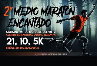 Carrera de 5, 10 o 21Km para ADULTOS en Maratón Encantado