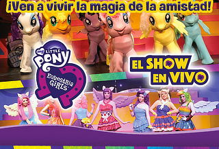 My little pony & Equestria girls ¡En vivo!