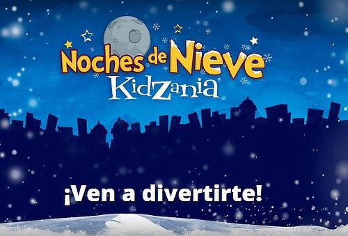 Noches de Nieve en ¡Kidzania!