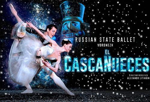 El Cascanueces Russian State Ballet ¡22 Dic ÚNICA FECHA!