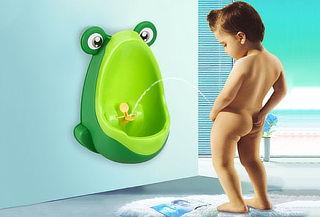Mi entrenamiento de baño en forma de Rana.