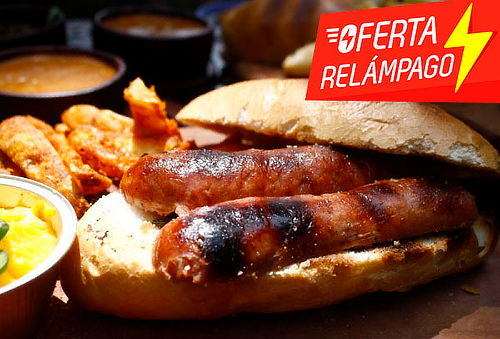 Choripan a elegir + Empanada + Clericot: Sucursal a elegir