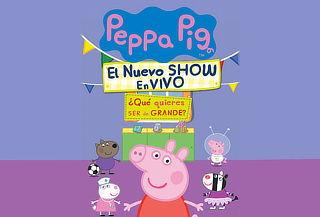 Peppa Pig, el nuevo show ¡En vivo! 20 y 21 de Enero ÚNICAS!