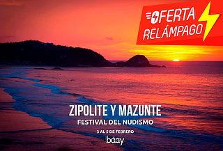 ¡Oferta Relámpago! Zipolite y Mazunte 3D/2N + Transporte