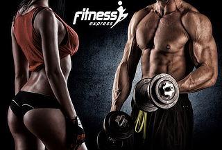 ¡Ponte en Forma! 3,6 ó 12 Meses Acceso Fitness Express 2 Suc