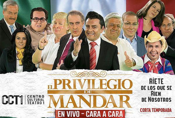 ESTRENO: El Privilegio de Mandar 17 y 18 Marzo