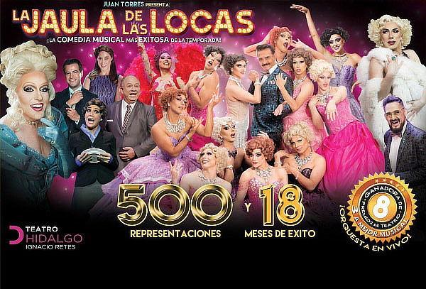 RELÁMPAGO: 2x1 LA JAULA DE LAS LOCAS ¡Últimas 8 Semanas!