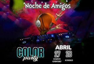 RELÁMPAGO: KidZania Noches de Amigos COLOR PARTY