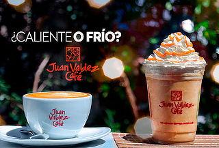 Bebida Fría o Caliente en Juan Valdez Café ¡6 Sucursales!
