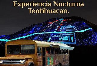 2x1 Vive Teotihuacán de Noche ¡De forma divertida!