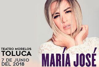Concierto de María José 7 de Junio Teatro Morelos