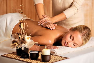 Relajación con 3 masajes a elegir