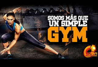 Anualidad GYM Multiclub Zona Fitness 9 Suc