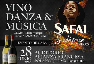 Evento de Gala Vino, Danza y Música en Alianza Francesa