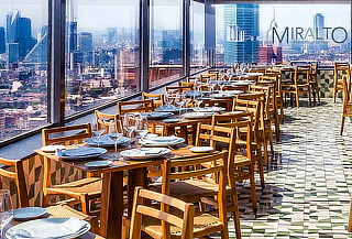 Torre Latino Menú 3 Tiempos con Salmón, Camarones o Filete