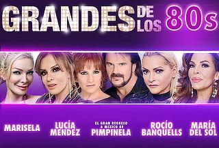 Grandes de los 80's Marisela, Pimpinela, Banquells 30 Agosto