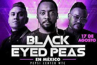 Concierto de Black Eyed Peas 17 Agosto en Pepsi Center