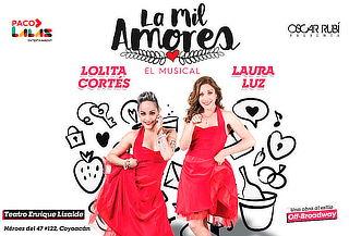 Relámpago: 2x1 La Mil Amores Una Obra al Estilo Off-Broadway