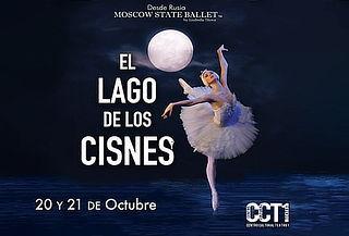 El Lago De Los Cisnes,  Moscow State Ballet 20 y 21 Oct