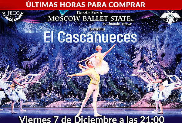 Cascanueces presentado por  Moscow State Ballet