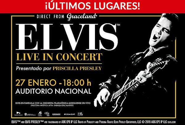 Elvis Live Sinfónico en el Auditorio Nacional