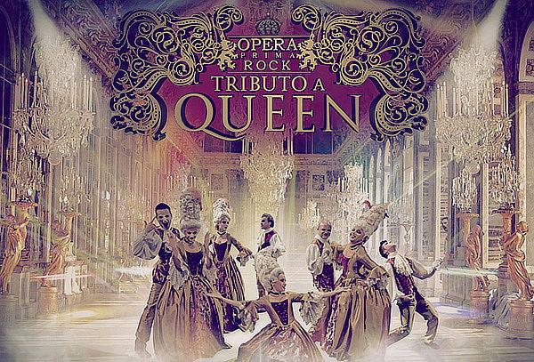 Ópera Prima Rock tributo Queen Teatro del Parque Interlomas