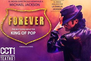 """FOREVER """"Homenaje a Michael Jackson Avalado por su Familia"""""""