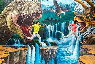 TRICK EYE ¡Primer Museo de Realidad AUMENTADA 3D en México!