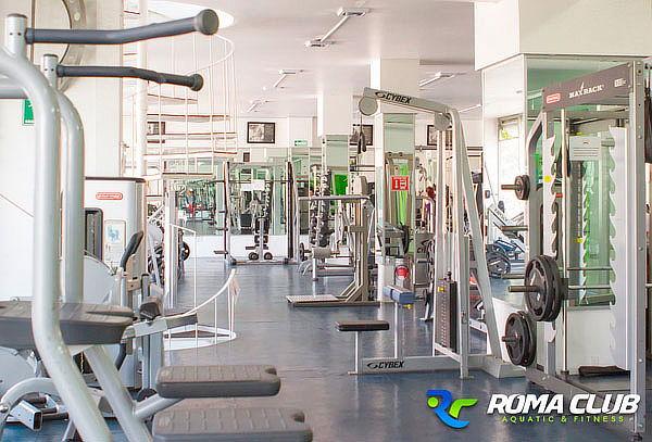 3 o 6 Meses Gym+ Clases + NATACIÓN Roma