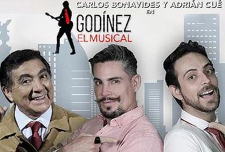 Godínez el Musical: con Carlos Bonavides y Adrián Cué