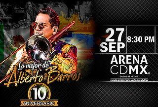 Concierto Alberto Barros 10 Aniversario 27 de Septiembre
