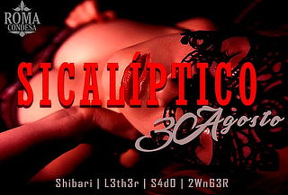 Sicaliptico Fest Erotismo en VIVO 30 de Agosto ÚNICA FECHA