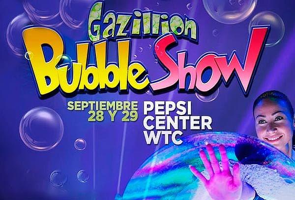 Show de burbujas n° 1 del Mundo en Pepsi WTC 28 y 29 de Sept