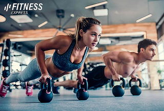 Año GYM + Clases Fitness Express Roma o Insurgentes