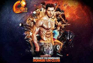 Año GYM Multiclub Zona Fitness 11 Sucursales