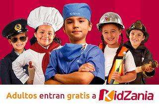 BUEN FIN KidZania Acceso Niño y el Acceso Adulto es GRATIS