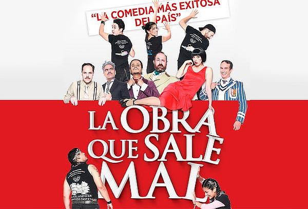 La Obra Que Sale Mal ¡Teatro Aldama!