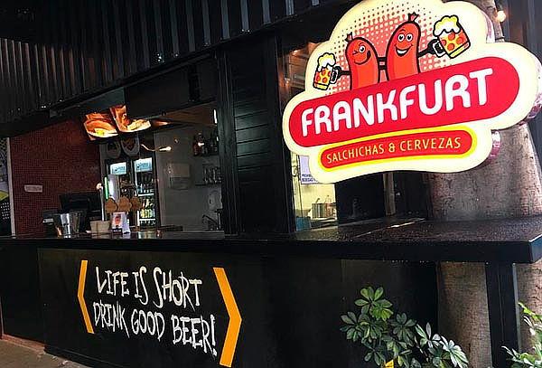 Frankfurt 3 Suc: 2 Salchichas Alemanas + 2 Cervezas