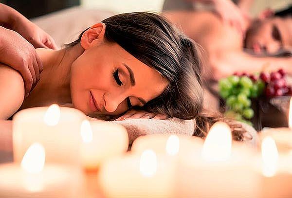 Mini day spa para 2: Masaje descontracturante y reflexología