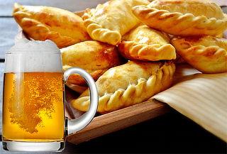 Empanadas + Pizza a elegir + Cervezas para 2